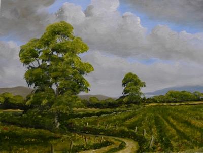 Painting by Liam Rainsford