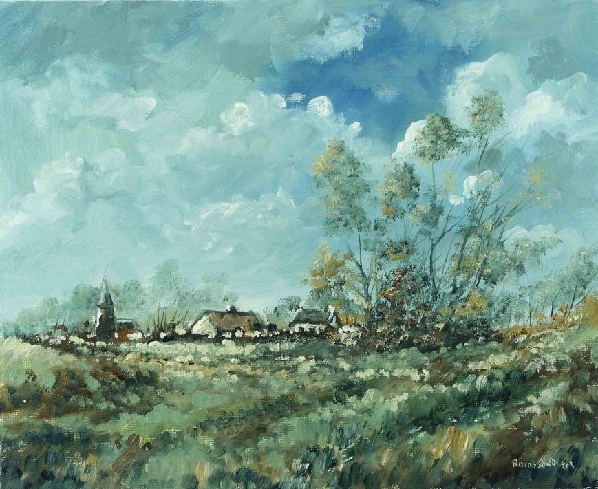 Home through the fields
