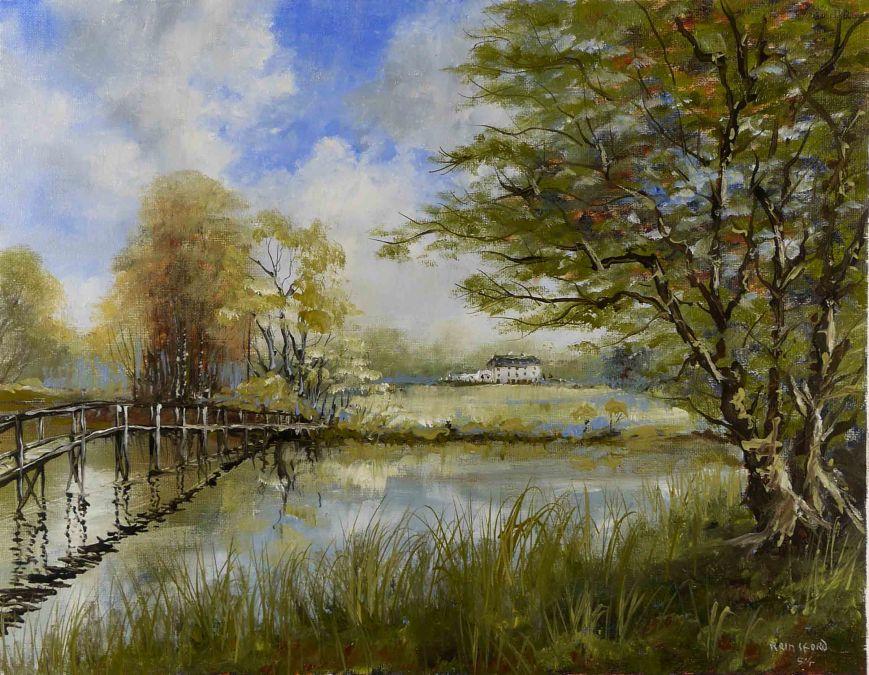 Footbridge, De Vesci Estate