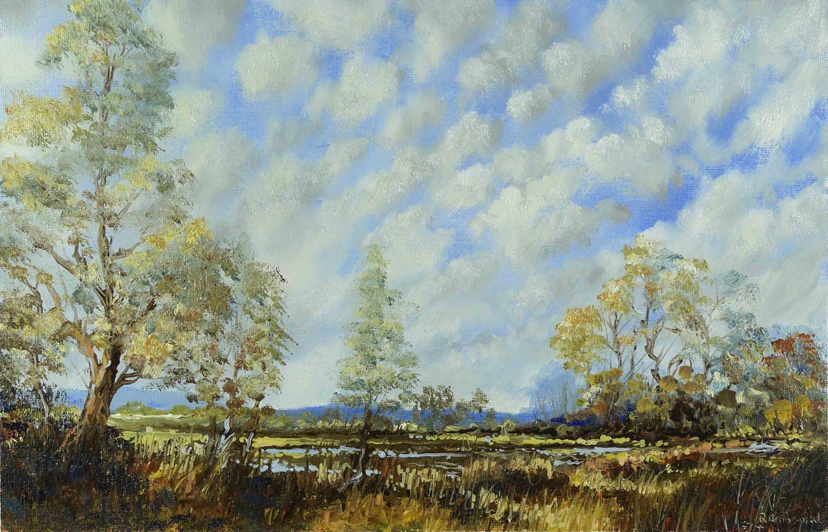 Dessin et peinture vid o 1119 couleurs d 39 t dans un paysage peintur - Les couleurs de l ete ...